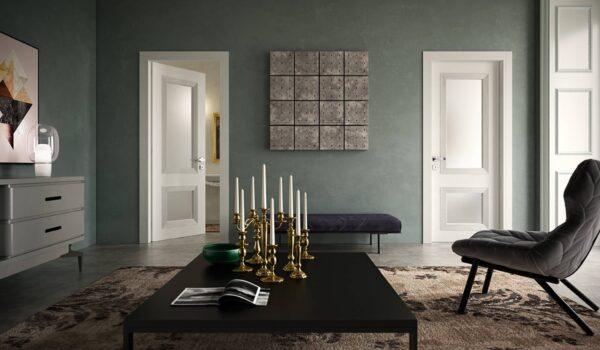 Edilgreen –1508, Blind Swing Door, 2 Squares, RAL 9010 1508 2